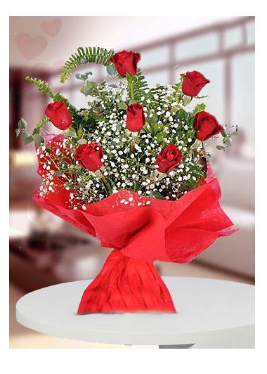 7 Gül Buketi-11 Gaziantep Çiçekciler
