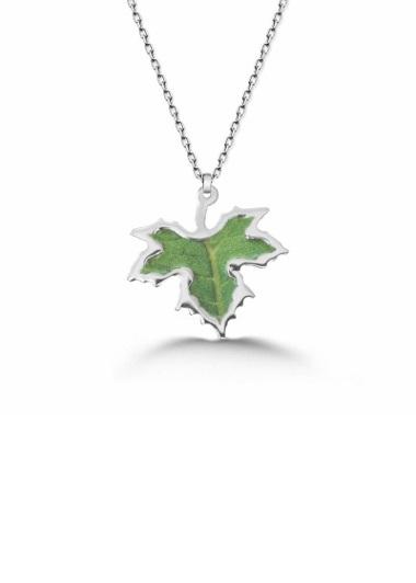 Dileklerin Gerçek Olsun Gümüş Kolyesi Gaziantep Çiçek Sepeti Siparişi