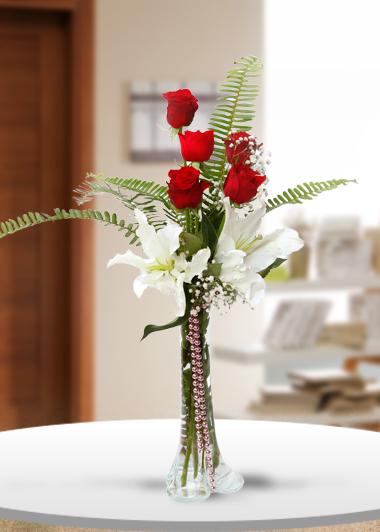 Hep Yanımda ol-45 Gaziantep Çiçek Sepeti Siparişi