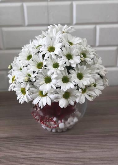 Papatya Küresi Gaziantep Çiçek Sepeti Siparişi