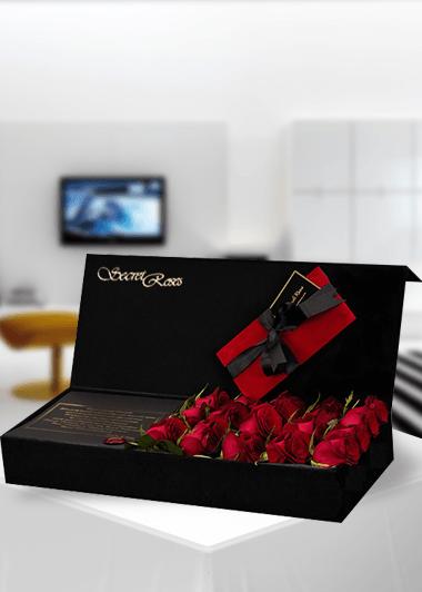 Secret Roses Kırmızı