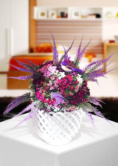 Sevgi Kuşu-38 Gaziantep Çiçek Sepeti Siparişi